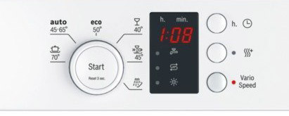 Bosch SKS62E22EU Display
